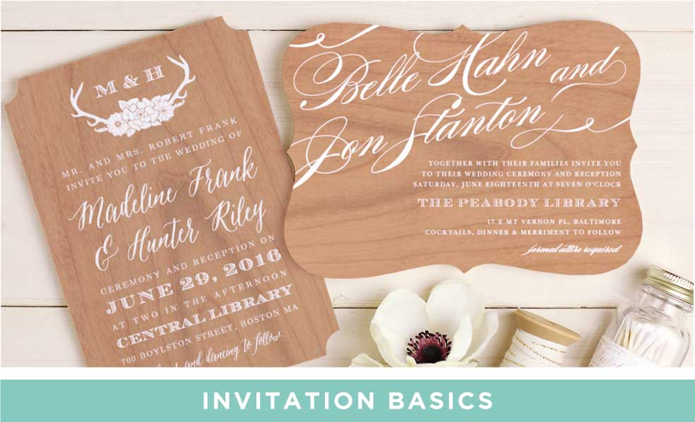 Invitation Basics