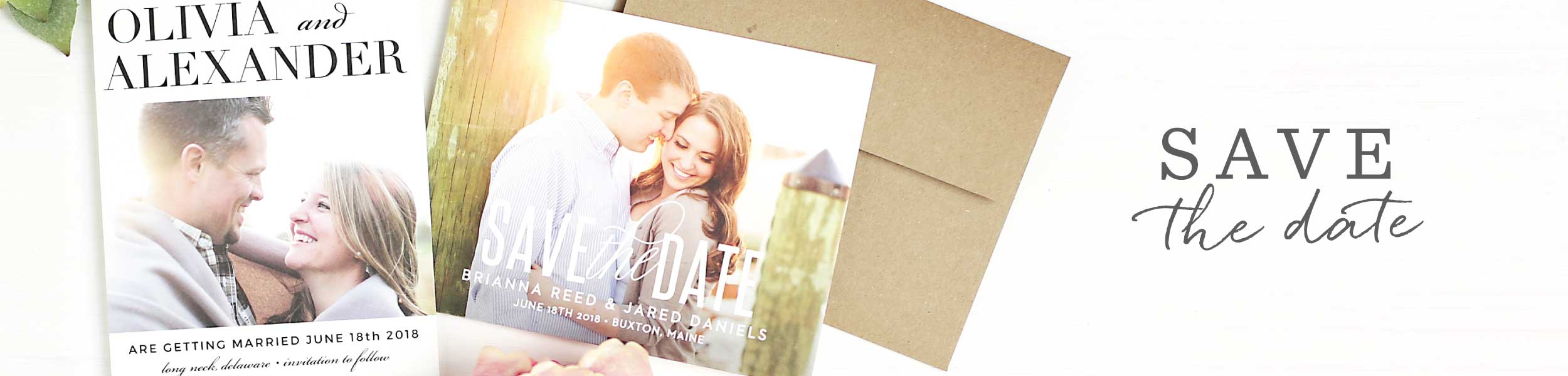 Photo Save The Date Cards Picture Save The Date Basic