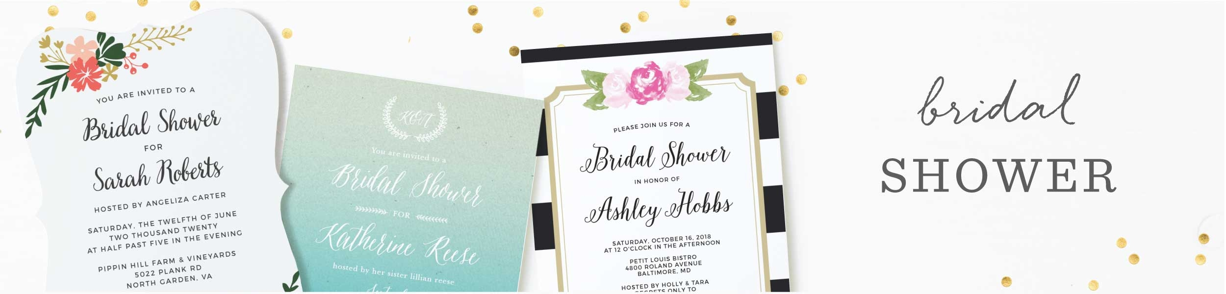 Bridal Shower Invitations & Wedding Shower Invitations | BasicInvite