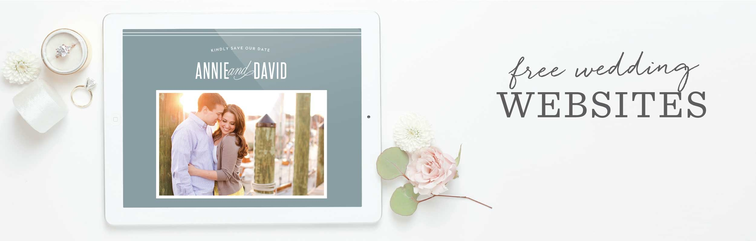 100% Free Wedding Websites | Match Your Colors & Style! - Basic Invite