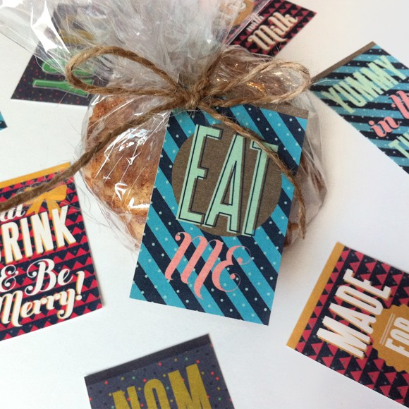 Baked Christmas Gifts: Baked Goods Gift Tags Printable By Basic Invite