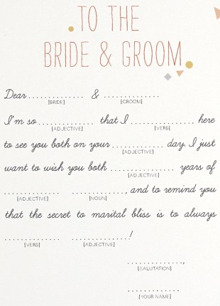 Confetti Mad Libs Printable by Basic Invite