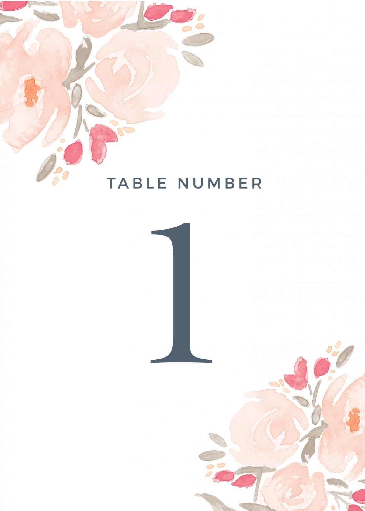It's just a picture of Crafty Table Numbers Printable