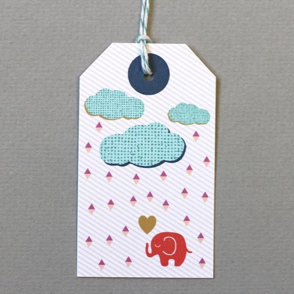 Elephant Gift Tags Printable