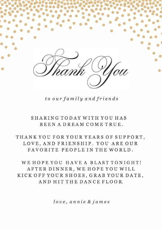 Gold Confetti Thank You Cards Printable