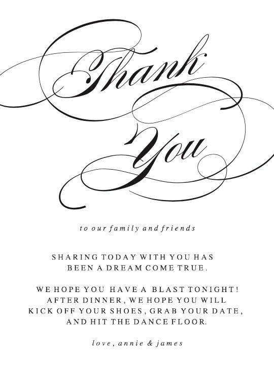 Simplicity Thank You Cards Printable