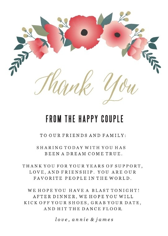 Watercolor Floral Thank You Cards Printable