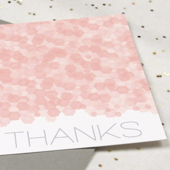 Sequins Thank You Note Printable
