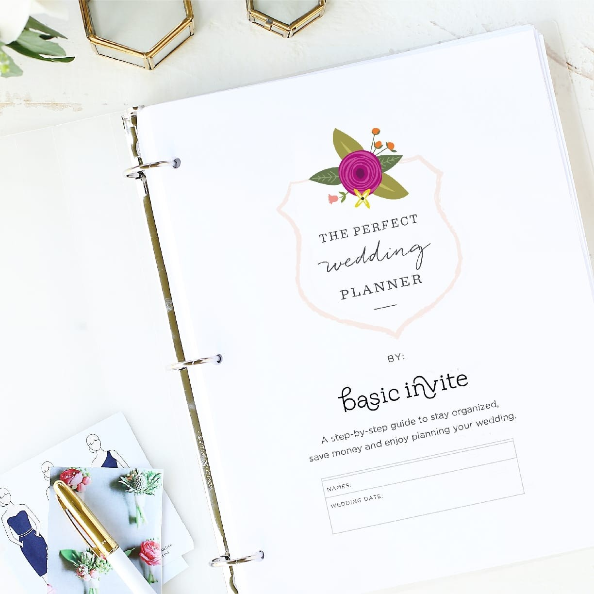 "Size: 8.5"" x 11"" paper or A4 Set up: 75 pages total Colors: some colors usedUse these PDF editable planning sheets as an add-on to our wedding planner. Manage every detail of your wedding on your computer instead of by hand.