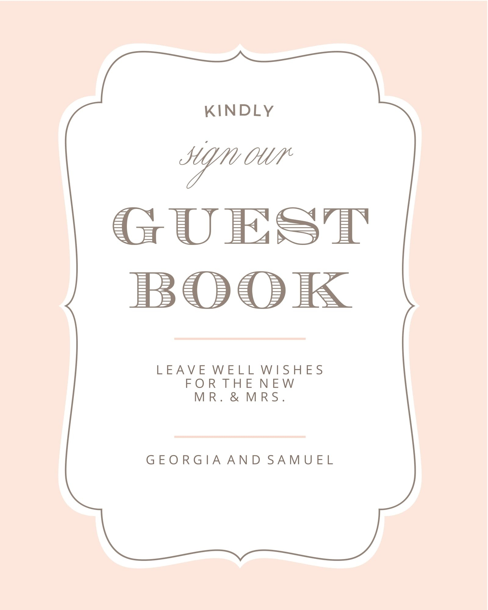 wedding signs printables and diy templates of signs. Black Bedroom Furniture Sets. Home Design Ideas