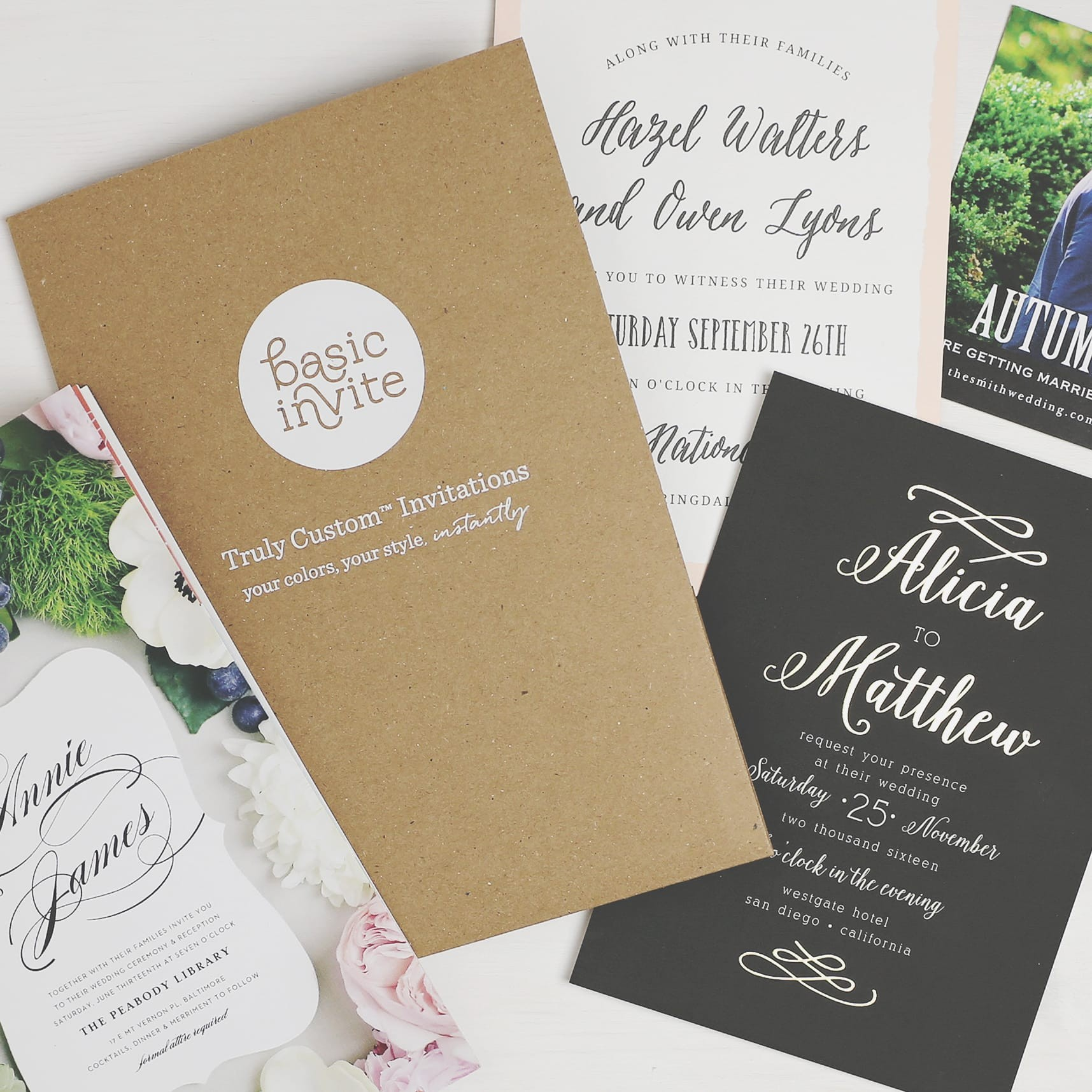 Partner Wedding Sample Kit