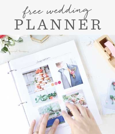 Free Wedding Planner Printable - DIY