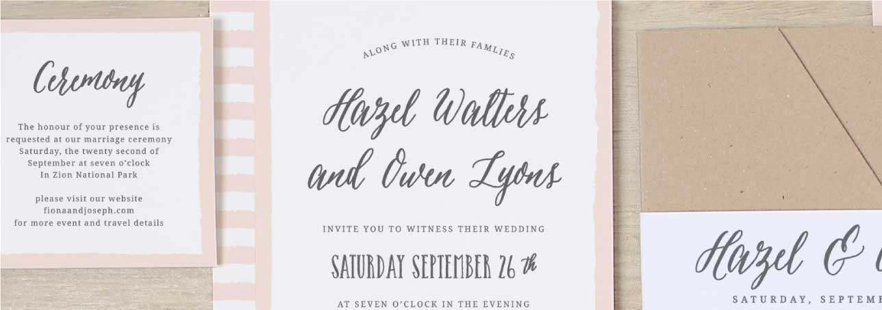 Invitations announcements and photo cards basic invite over 100 fonts stopboris