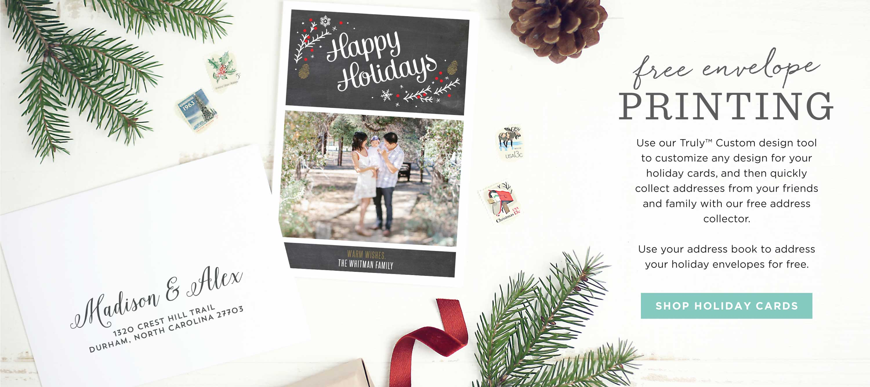 Holiday and Christmas Cards by Basic Invite