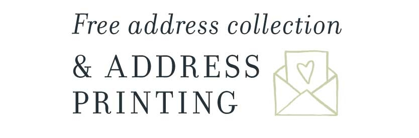 Free address collection and address printing.
