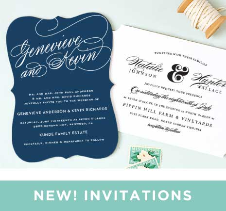 Wedding Menus | Design Your Menu Instantly Online! - Basic Invite