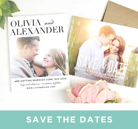 Save The Date Cards – Wedding Invitations and Save the Dates