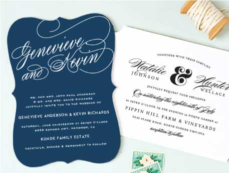 Wedding invitations match your color style free seal send wedding invitations stopboris