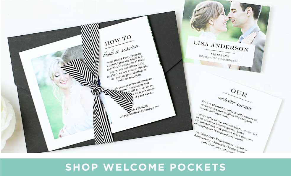 Shop Welcome Kit Pockets