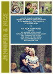 Photo Romance Wedding Invitation