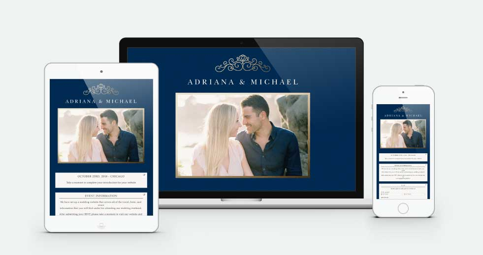 Mobile Wedding Website