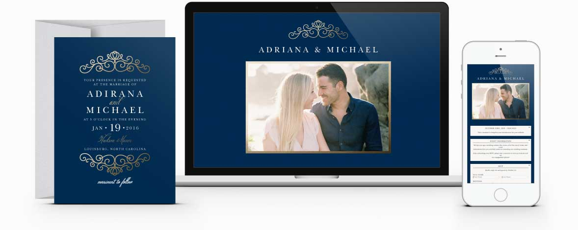 Free Wedding Websites by Basic Invite